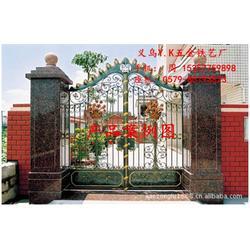 别墅铁艺大门_Y.K铁艺厂质优价廉_铁艺大门图片