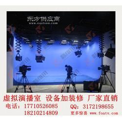 真三维虚拟演播室实施项目图片