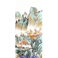 写意山水画 巽斋 铁岭山水画图片