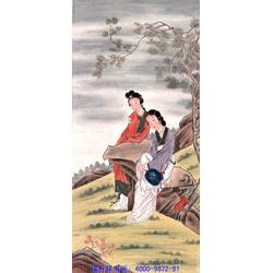手绘古典人物画,人物画,瑞升祥书画(查看)图片