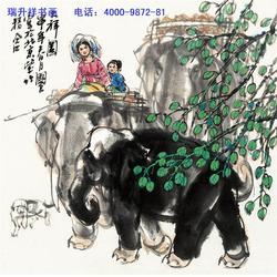 河北巽斋文化传播有限公司(图)_艺术品复制画_艺术品复制图片
