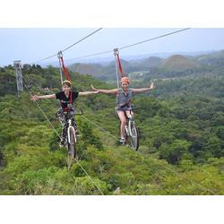 宿州高空脚踏车、高空脚踏车、西拓游乐设备图片