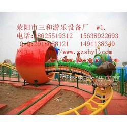 大型儿童游乐设备16人青虫滑车QCHC三和游乐实惠图片