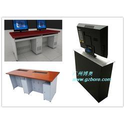 多功能升降顯示器電腦桌款式-吉林升降顯示器電腦桌-博奧圖片