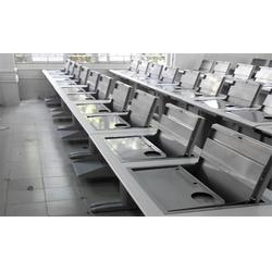 博奧、培訓室液晶屏翻轉電腦桌、海口液晶屏翻轉電腦桌圖片