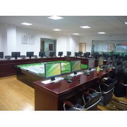 培训室显示器升降培训桌厂家_广州显示器升降培训桌_博奥图片
