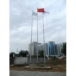 手动不锈钢国旗旗杆 手动锥形旗杆厂家 手动不锈钢锥形旗杆图片