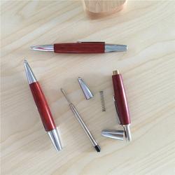 红木宝珠笔套装,增城红木宝珠笔,笔海文具图片