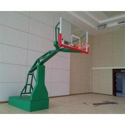 电动液压篮球架厂家,日照市电动液压篮球架,渤海体育(查看)图片