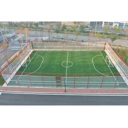 足球场_笼式足球场安装(图)_渤海体育图片