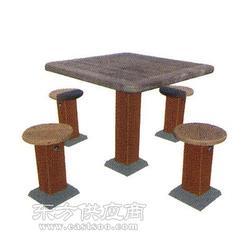 塑木高档棋盘桌生产厂家图片