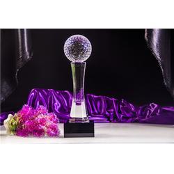 水晶奖杯、奥特水晶工艺精致、专业制作水晶奖杯