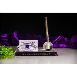 奥特水晶坚持高品质(图),水晶笔筒定制,水晶笔筒图片