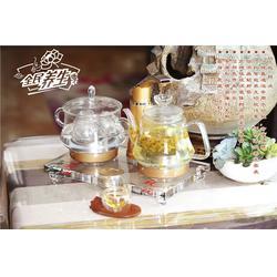 水晶茶壶,奥特水晶工艺精湛,水晶茶壶定做图片