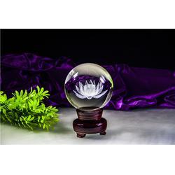 水晶光球内雕供应商、水晶光球内雕、奥特水晶供应精湛(查看)图片