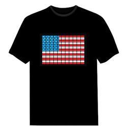 发光 t恤 男 短袖-百皆利众(在线咨询)发光t恤图片