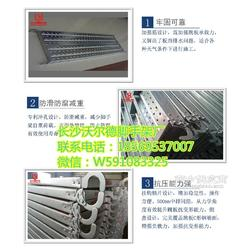 厂家直供盘扣用钢跳板 带挂钩踏板镀锌钢跳板图片