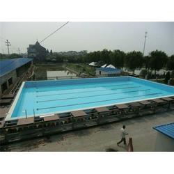 支架式游泳池、鄂州游泳池、雨乐环保图片