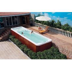 支架式游泳池造价、雨乐环保、扬中游泳池图片