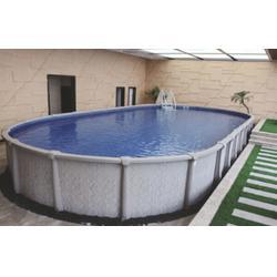 武冈游泳池、支架式游泳池设备、雨乐环保(优质商家)图片