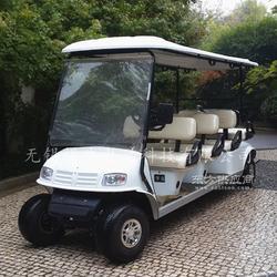 8座電動高爾夫球車,物業代步巡邏車,樓盤接待電瓶車圖片