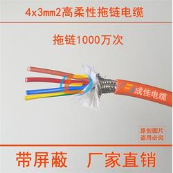双护套拖链电缆|双护套拖链电缆报价|成佳电缆图片