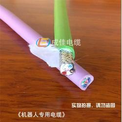 pur高柔性拖链电缆、成佳电缆、湛江高柔性拖链电缆图片