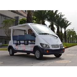 湄洲岛巡查车 厦门朗迈电动车 开放式巡查车