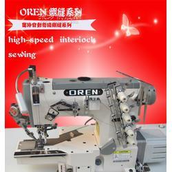 供应奥玲针织面料缝纫绷缝机绷缝线迹缝纫机 工业缝纫设备图片
