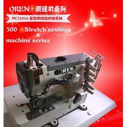 全自动剪线绷缝机 针织服装滚领、滚边、摺边绷缝机工业缝纫机图片