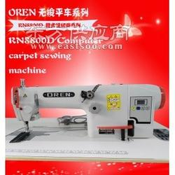 缝纫机设备 奥玲RN8800D缝式缝纫机 皮革制品搭接缝平缝机图片