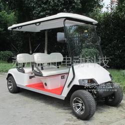 四轮电动高尔夫球车 四座休闲代步车 景区游览观光车图片