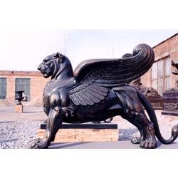 雕塑-济南尼方雕塑-动物头像雕塑图片