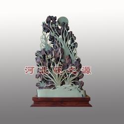 紫袍玉带石茶海、黑龙江紫袍玉带石、砚之源图片