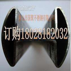 镜面不锈钢方槽管46x60槽宽深15x15管壁厚1.5mm图片