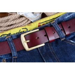 汕头头层皮带,格菱皮具,品牌男士头层皮带代购图片