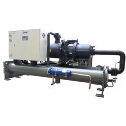 临汾冷水机,华巨冷,螺杆式冷水机组图片