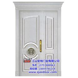 安旭门业欢迎来图来样(图)、品牌烤漆铝条门、烤漆铝条门图片