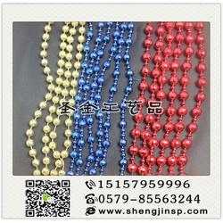 电镀连线珠报价-义乌电镀连线珠-圣金工艺品实惠图片