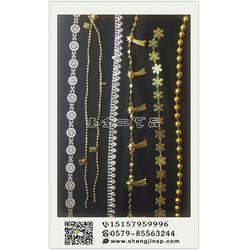 义乌电镀连线珠、圣金工艺品质量放心、电镀连线珠图片