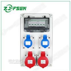 PC插座箱 塑料配电箱 家用组合插座 防水防尘大号户外移动图片