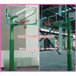 24秒篮球架,透明钢化玻璃篮板生产厂家图片