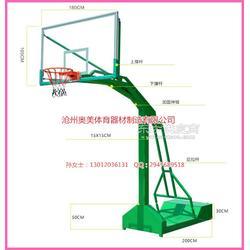 方管篮球架介绍方管篮球架图片
