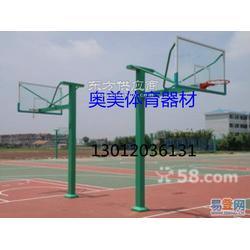 升降篮球架安装图凹箱式篮球架图片
