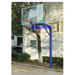 NBA篮球架、仿液压篮球安装图图片