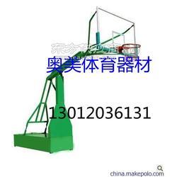 标准篮球架安装图凹箱式篮球架图片