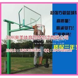 NBA篮球架介绍,凹箱式篮球架图片