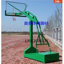 地埋篮球架,移动式篮球架图片