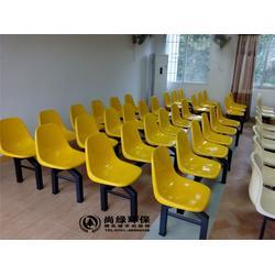 玻璃钢餐桌椅、长沙尚绿环保、湖南学校玻璃钢餐桌椅厂家图片