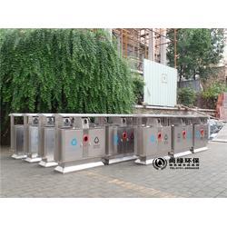 长沙尚绿环保 湖南不锈钢垃圾桶生产厂家-不锈钢垃圾桶图片